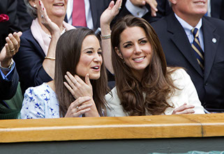Catherine Duchess of Cambridge,Pippa Middleton