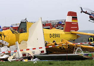 German Air Show Crash