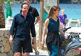 The Prime Minister of the United Kingdom, David Cameron