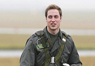 HRH Prince William took his first solo flight in a propeller-driven Grob 115E light aircraft known as the Tutor at RAF
