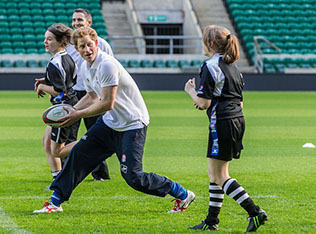 Prince Harry, Patron of the Rugby Football Union (RFU) All Schools Programme