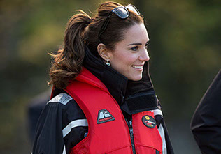 The Duke and Duchess of Cambridge went on a white-knuckle thrill ride on a jet boat in Queenstown New Zealand